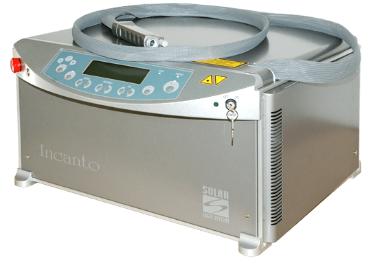 COMPACT ALEXANDRITE AND ND:YAG LASERS Incanto-mini