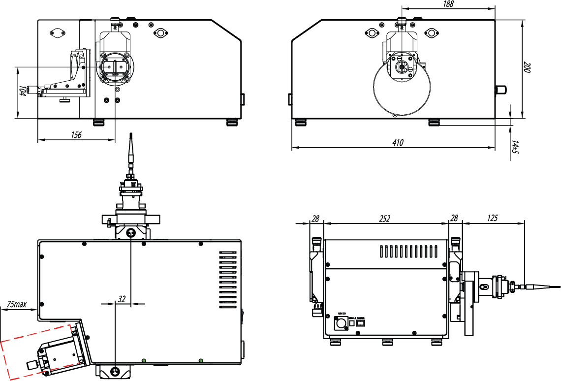Automated Monochromator Spectrograph Model M266 Solar Ls Gold Detector Schematic Diagram Optionally The Device May Contain Optics With Al Sio2 Or Coating For High Efficiency In Infrared Spectral Range
