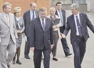 he Prime Minister of Republic of Belarus, Andrei Kobyakov, visited SolarLS