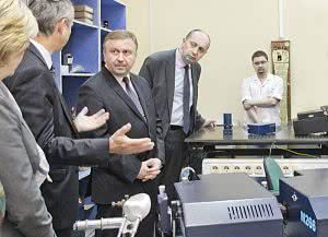 the Prime Minister of Republic of Belarus, Andrei Kobyakov, visited SolarLS