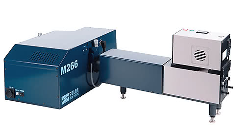 Xenon light source, adjustable in range from 250nm to 2500nm. photonics. world of lasers and optics- 2018