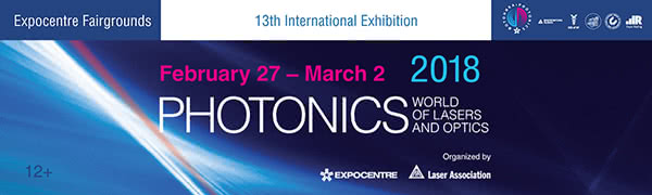 photonics. world of lasers and optics- 2018