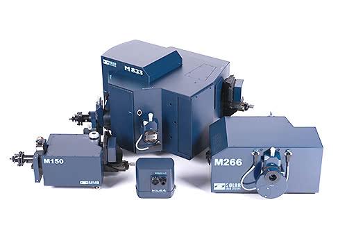 Spectrometersandmonochromatorswith CCD cameras.