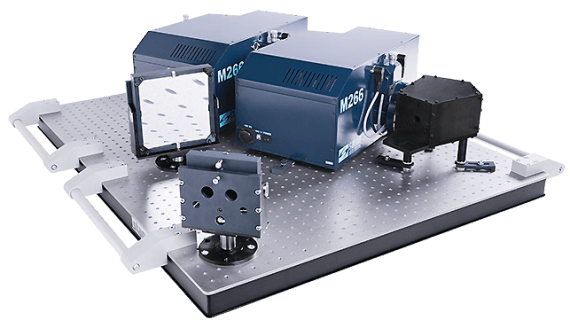 Double monochromator-spectrograph based on the M266 Double M266
