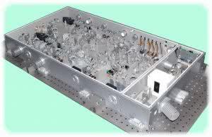 лазерная система для генерации излучения в ик области