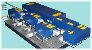 3-х волновая лазерная система