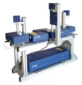 3 D лазерная система для оптических измерений и генерации плазмы в твердых телах, жидкостях и газах.