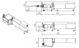 внешний вид и габаритные размеры ArcTune-M150-150W