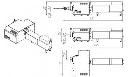 вВнешний вид и габаритные размеры ArcTune-M266-75W
