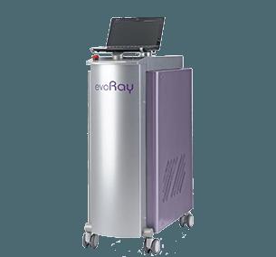 Многоволновой Q-sw КТР лазер Evoray